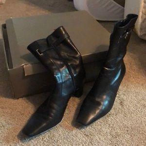 Black short boot - ColeHaan Tadi Short Boot